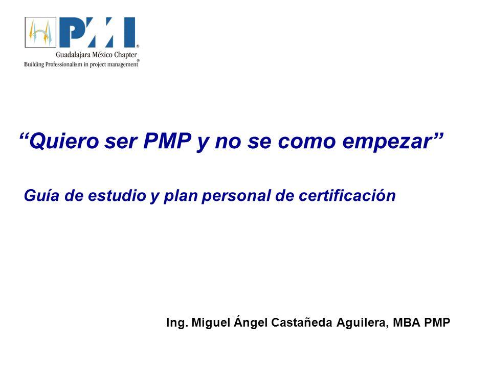 Lámina 2 Índice 1.Conceptos y términos del PMI, pre-requisitos para aplicar el examen PMP 2.Guía de estudio y plan de certificación