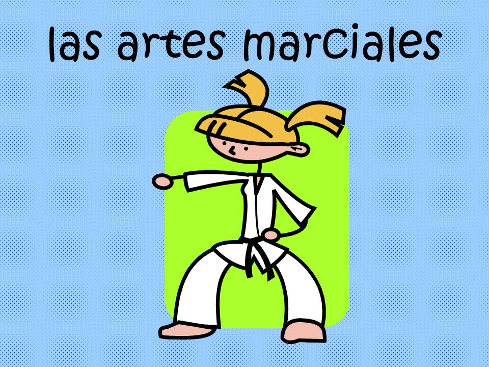 las artes marciales