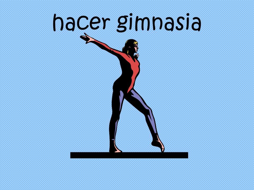 hacer gimnasia