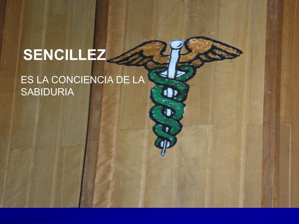 SENCILLEZ ES LA CONCIENCIA DE LA SABIDURIA SENCILLEZ