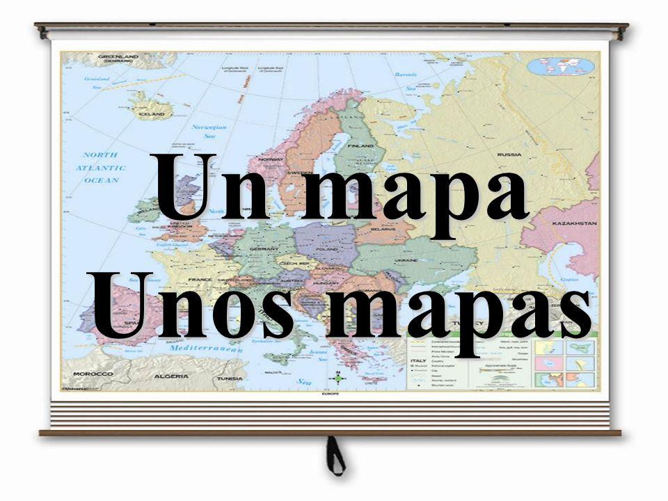 Un mapa Unos mapas