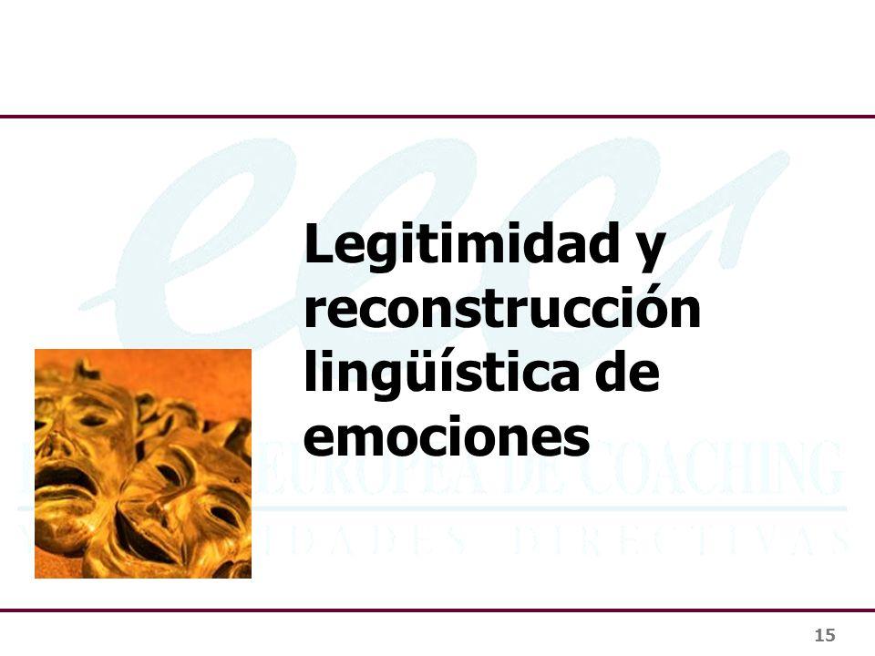 15 Legitimidad y reconstrucción lingüística de emociones