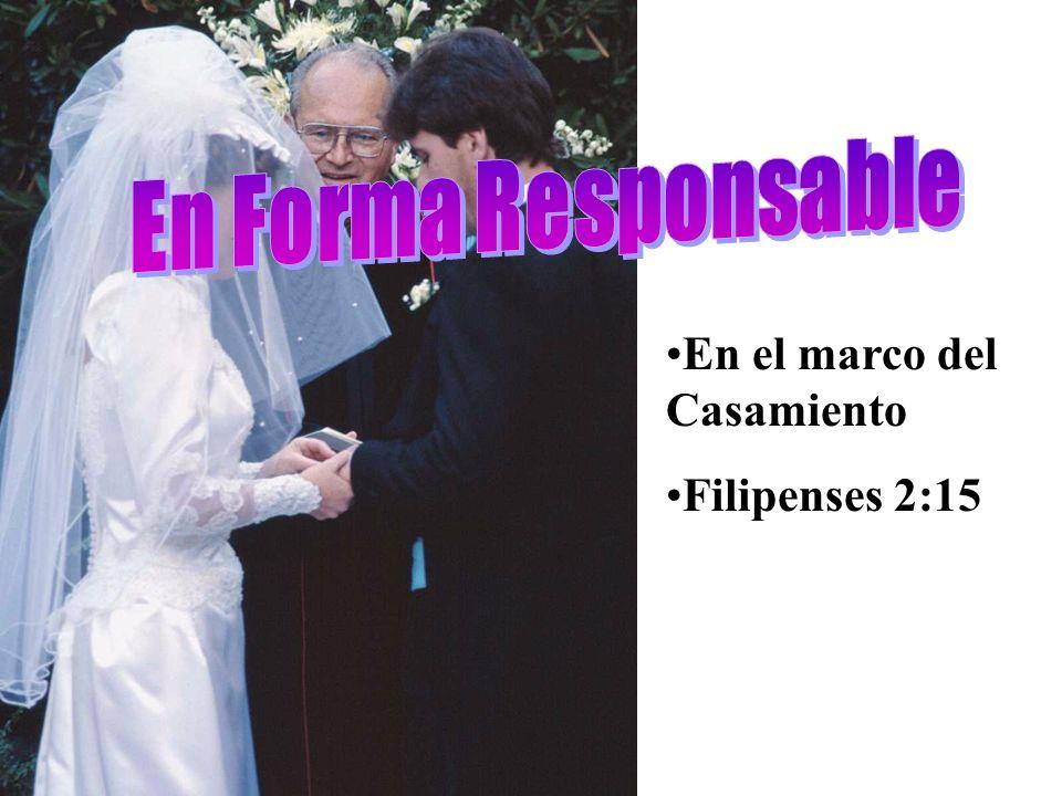 En el marco del Casamiento Filipenses 2:15