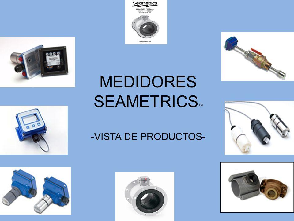 Acesorios de Seametrics Silleta, paneles solares, splitters, y otras cosas