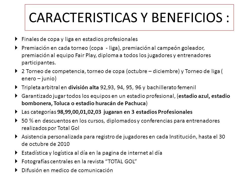 BENEFICOS DEPORTIVOS 1.
