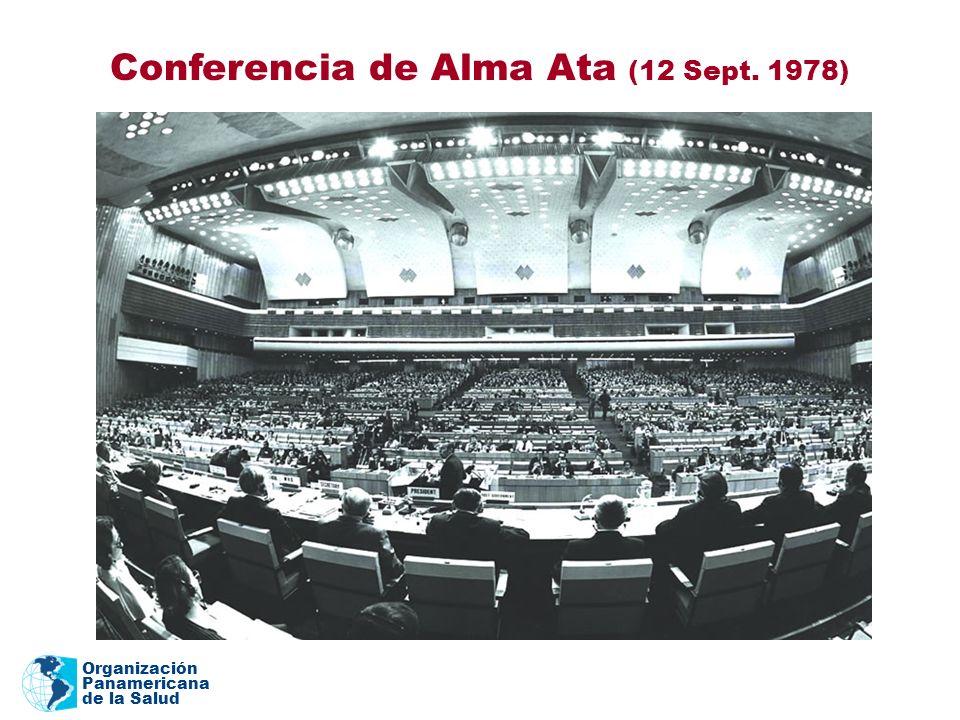 Organización Panamericana de la Salud Conferencia de Alma Ata (12 Sept. 1978)