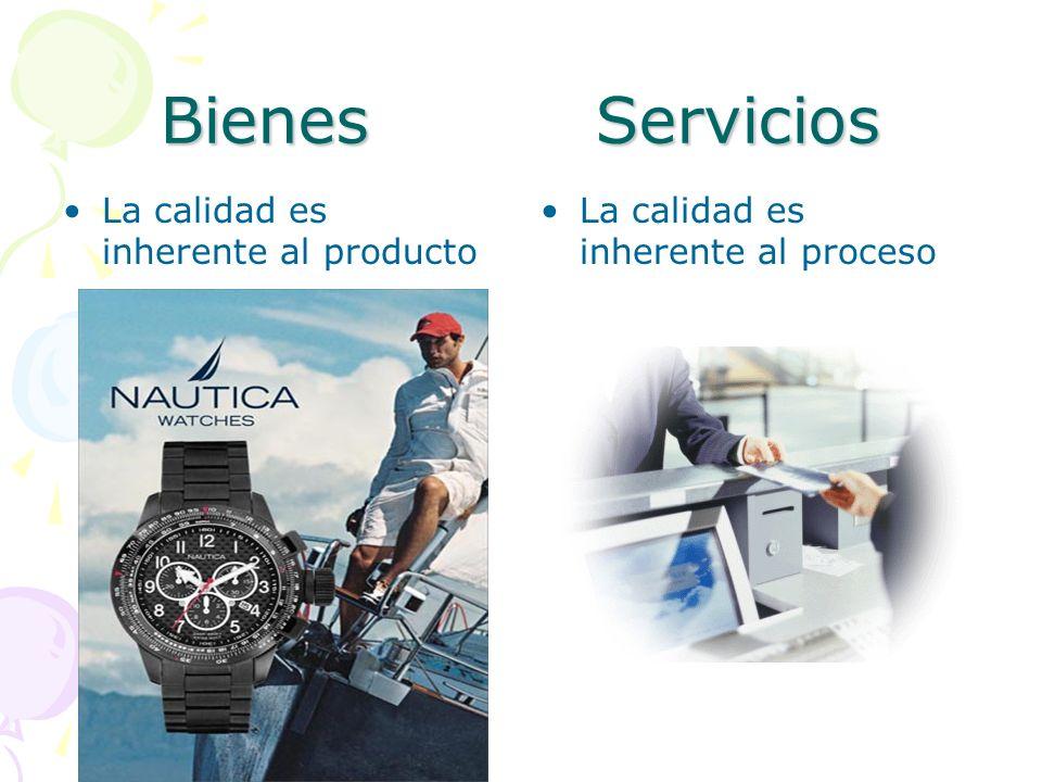 Bienes Servicios Usualmente estandarizado Usualmente requerido para el cliente