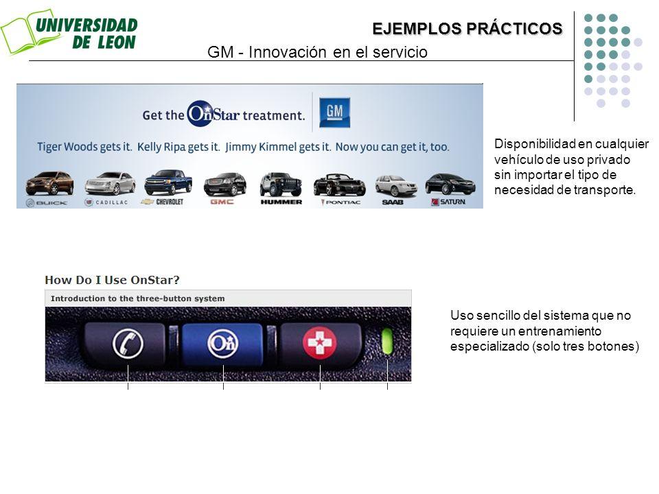 Disponibilidad en cualquier vehículo de uso privado sin importar el tipo de necesidad de transporte. Uso sencillo del sistema que no requiere un entre