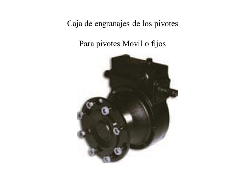 Caja de engranajes de los pivotes Para pivotes Movil o fijos