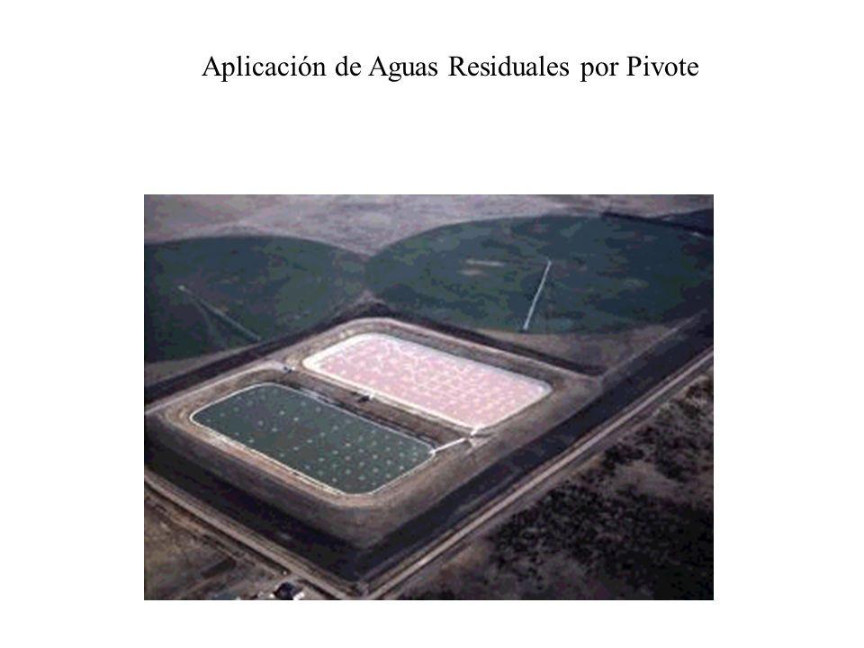 Aplicación de Aguas Residuales por Pivote