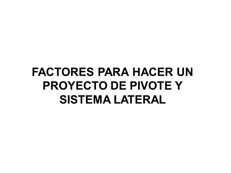LOS PIVOTES Y FRONTALES DE GREVSON INTERNATIONAL WATER