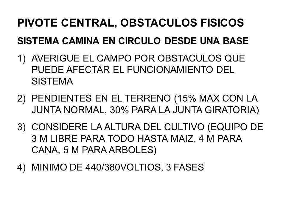 APLICACION DE AGUA 1)DE TEMPERATURAS ALTAS, ALTO CONSUMO, 1LPS/HA DE FLUJO PARA CALCULAR EN EL SISTEMA 2)DE TEMPERATURAS MEDIANAS, CONSUMO MODERADO,.8LPS/HA PARA CALCULAR EN EL SISTEMA (NORMAL) 3)RIEGO COMPLEMENTARIO, HASTA.7 LPS/HA 4)IMPORTANTE SABER EL CONSUMO DE CADA CULTIVO EN SU ZONA