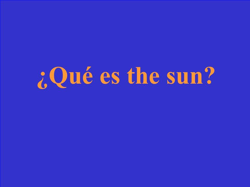 ¿Qué significa el sol