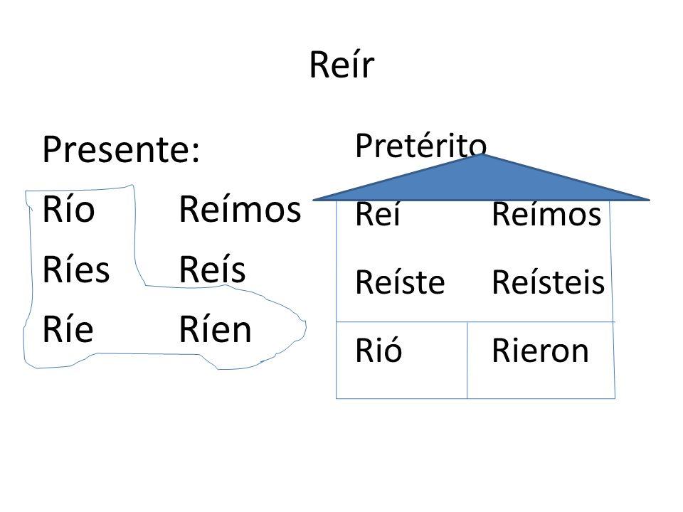 Algunos verbos que funcionan asi Preferir-to prefer Vestirse-to get dressed Pedir –to ask for/order Convertir-to convert Mentir-to lie Sentirse-to fee