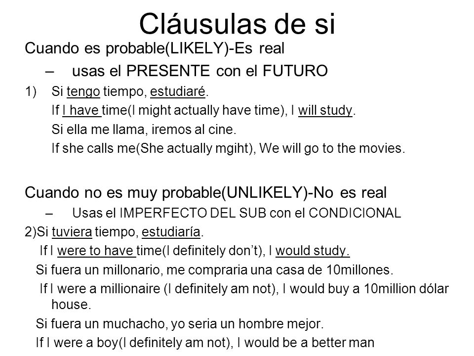 Las cláusulas Adverbiales Estas cláusulas usan el subjuntivo con eventos que no han ocurrido todavía. Aunque Cuando Tan pronto/en cuanto Hasta que Des