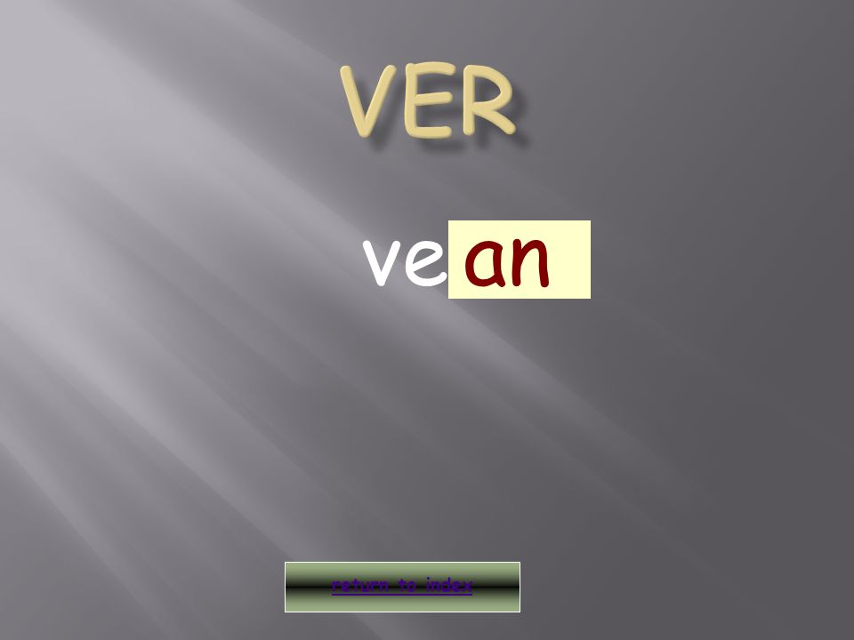 veo return to index an