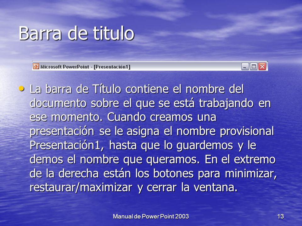 A.Barra de Titulo A. Barra de Titulo B. Botones de control (maximizar, minimizar, cerrar) B.