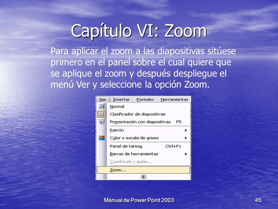 44Manual de Power Point 2003