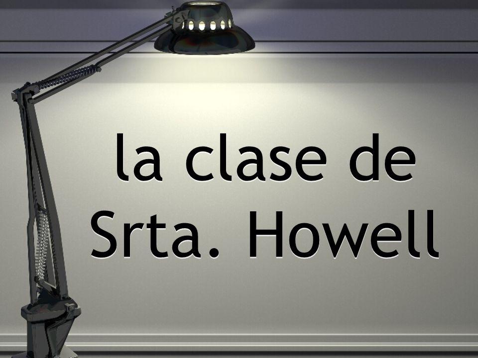 la clase de Srta. Howell