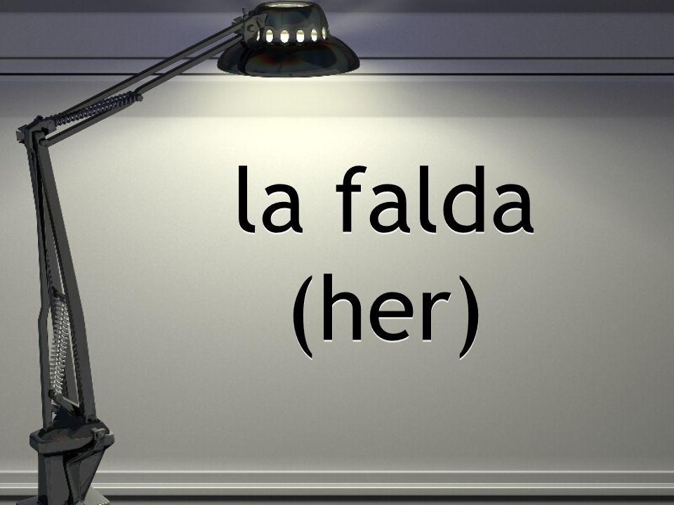 la falda (her)