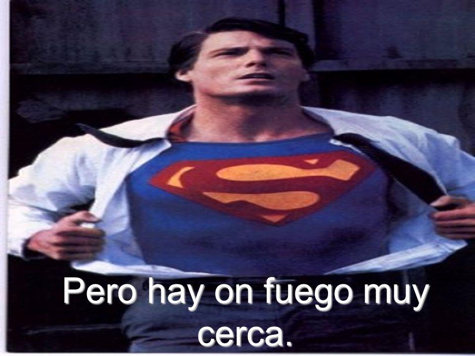 Poder Superman hacer un smore gigante!