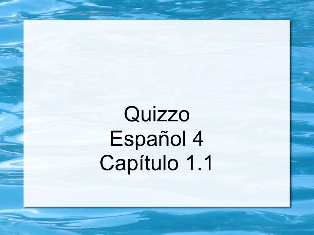 Vocabulario 1.