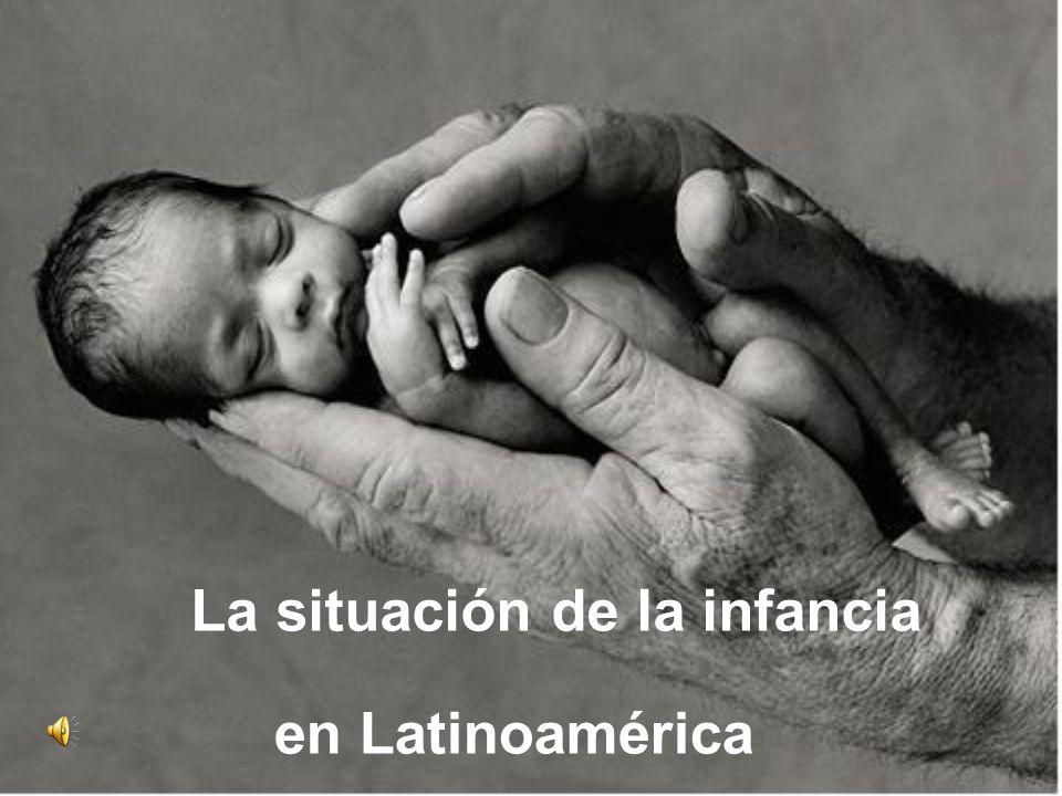 La situación de la infancia en Latinoamérica