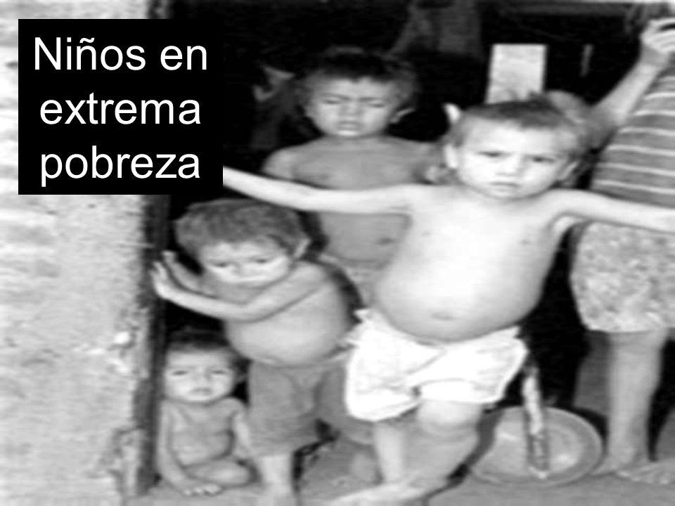 Niños en extrema pobreza