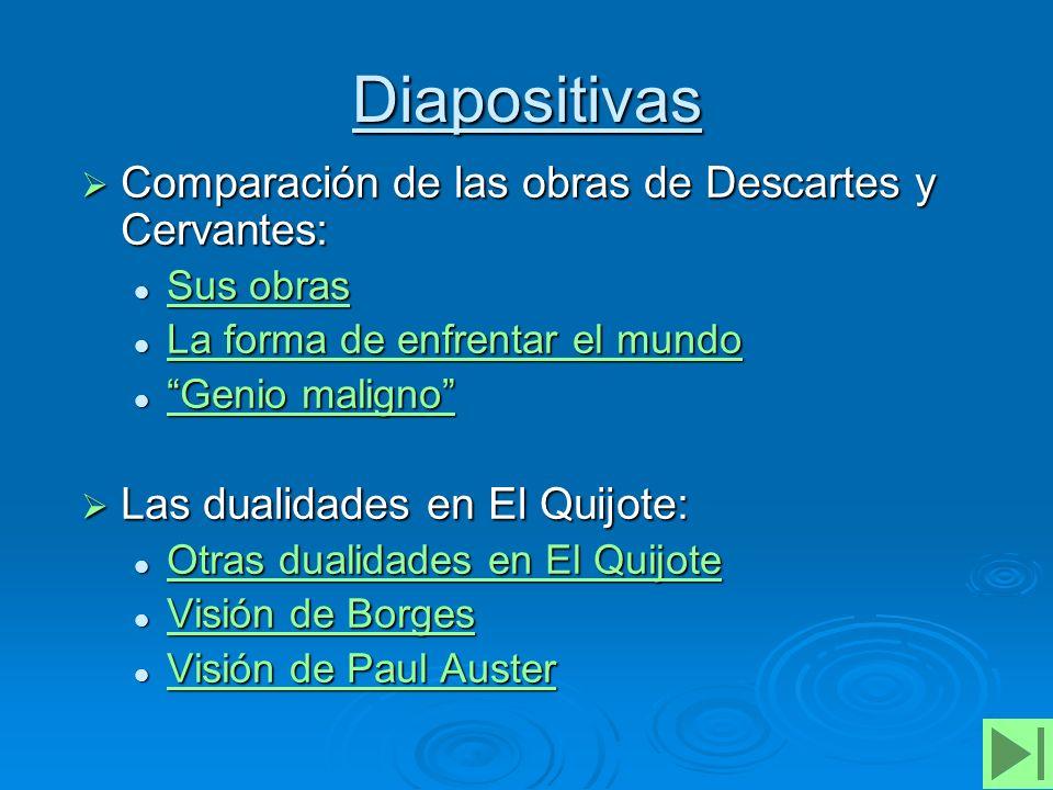 Sus obras Don Quijote abandona por completo el mundo de Alonso Quijano, para convertirse en caballero y así servirle a su patria.