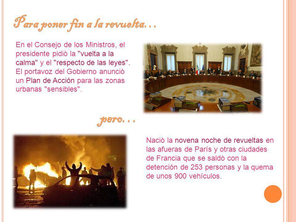 Villepin, recibiò durante dos horas y media en la sede del Gobierno a 16 jóvenes de barrios difíciles.