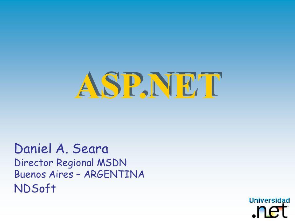 Objetivos Introducción a ASP.NET Conceptos y Arquitectura Características de ASP.NET ASP.NET Avanzado ASP.NET y el Microsoft ®.Net Framework