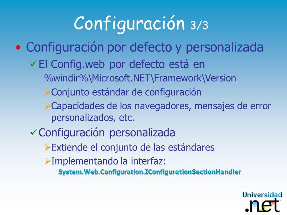Configuración 3/3