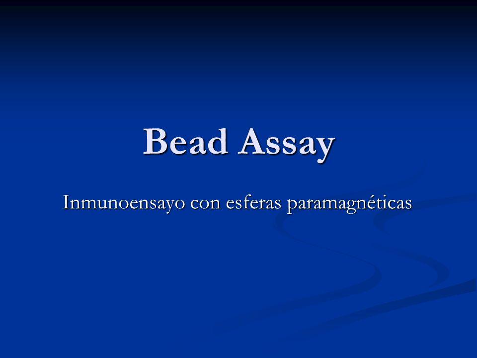 Bead Assay Inmunoensayo con esferas paramagnéticas