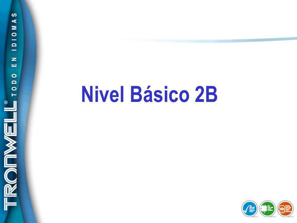 Nivel Básico 2B