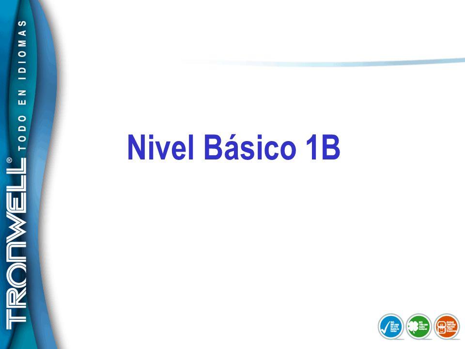 Nivel Básico 1B