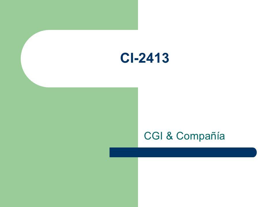 CI-2413 CGI & Compañía