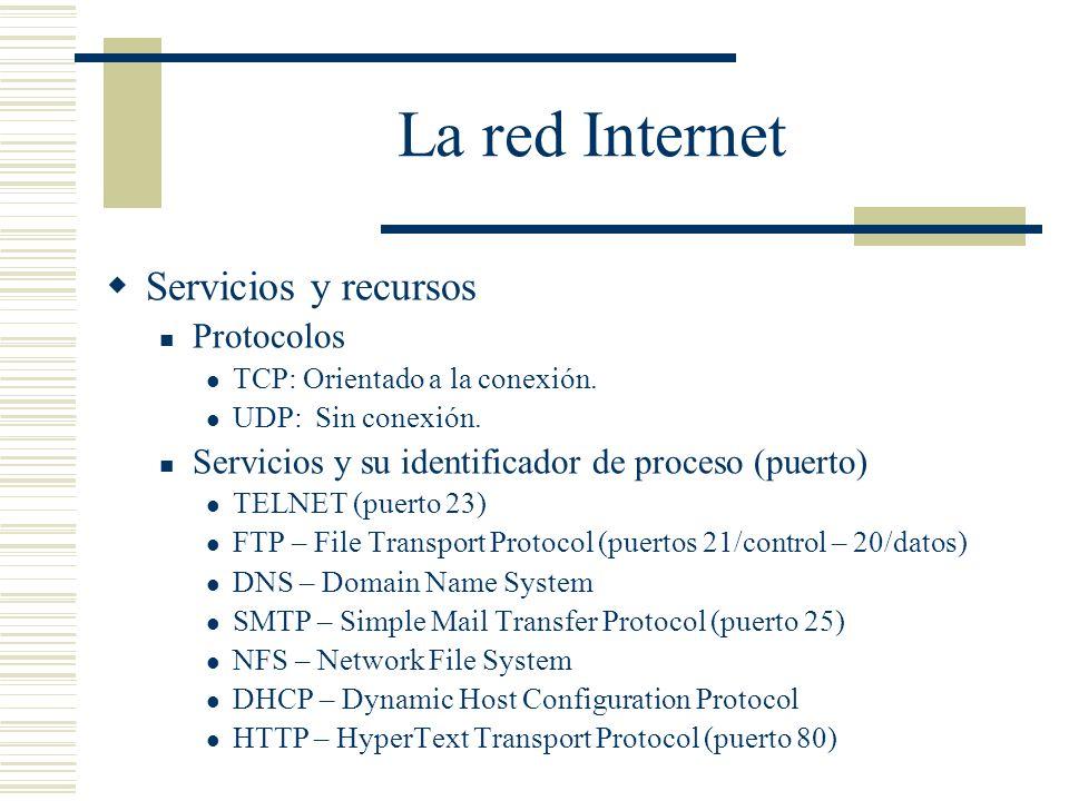 La red Internet
