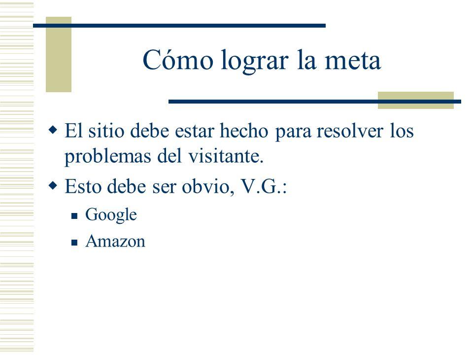 Diseño Visual Marcos (frames): Razones para no usarlos: Resultan difíciles de indizar para los motores de búsqueda.