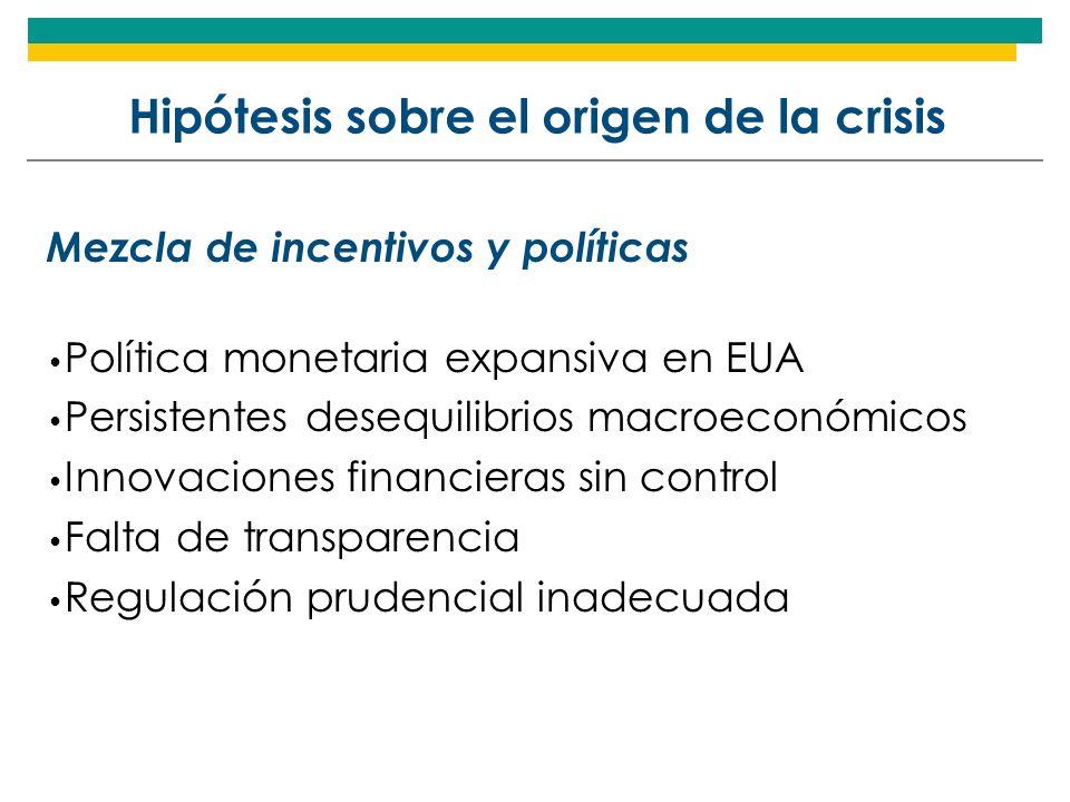 Uruguay: Política Anticíclica A fines de año el gobierno anunció una serie de medidas para contrarrestar los efectos de la crisis financiera global, las cuales no corresponden exactamente a una política anticíclica.