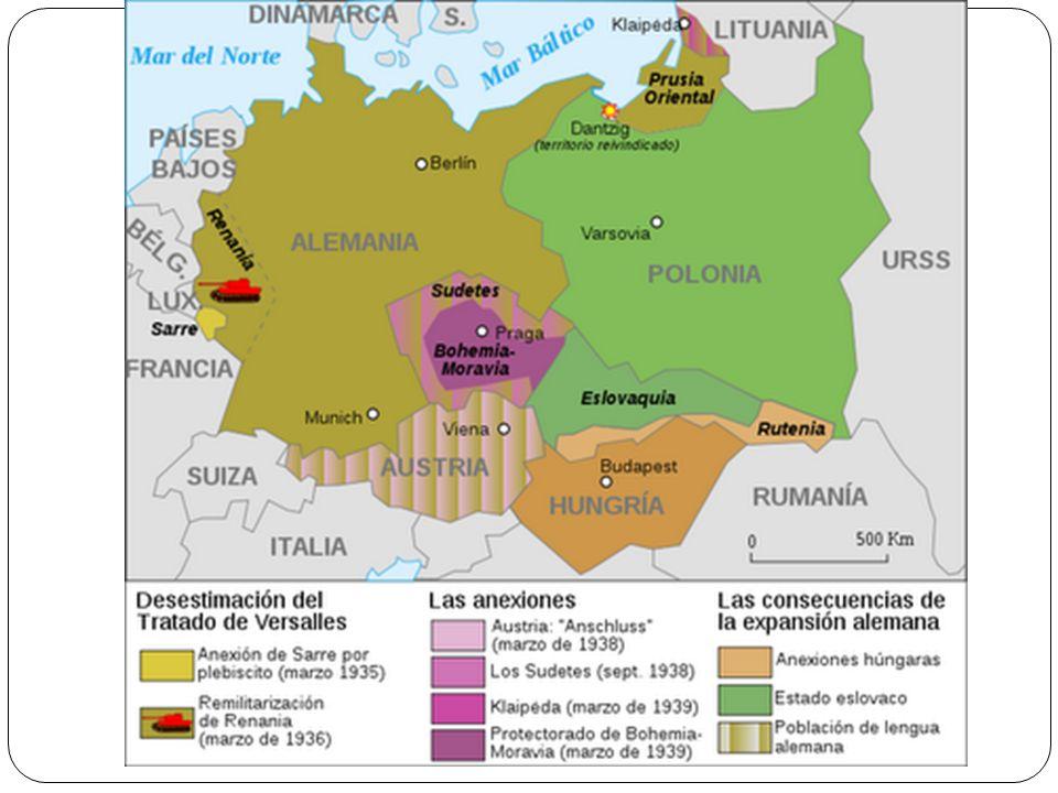 2.En 1939 Hitler y Stalin hacen un PACTO DE NO AGRESIÓN.