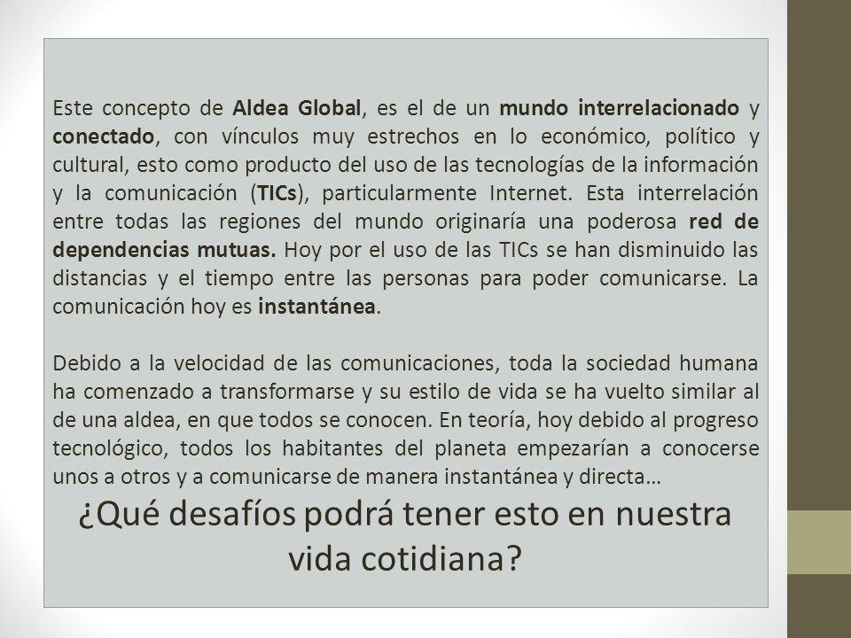 Gobernar en el contexto de la globalización.