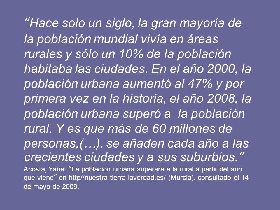 13 Las localidades rurales, según el INE CRITERIO CANTIDAD DE POBLACIÓN Son localidades rurales todas aquellas que tienen menos de 1.000 habitantes.