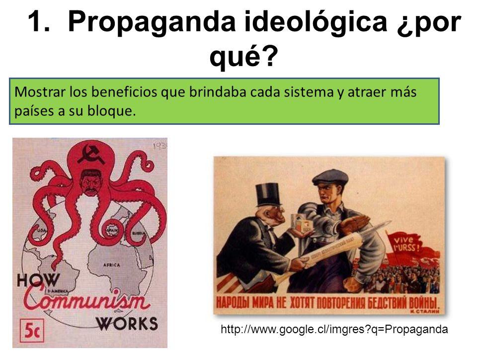 1. Propaganda ideológica ¿por qué.