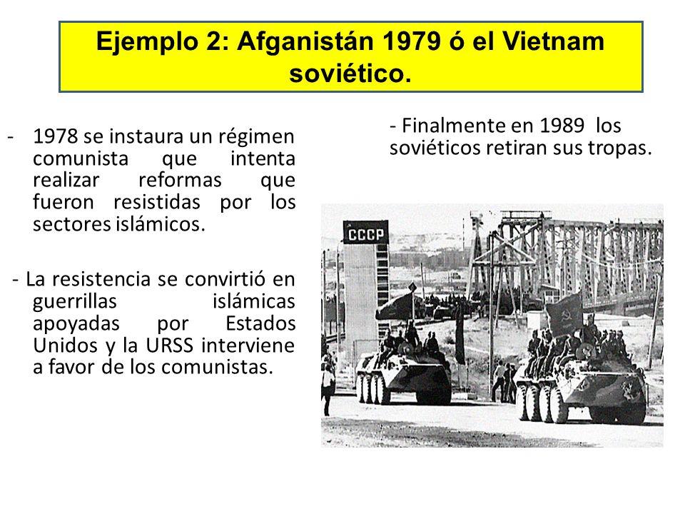 -1978 se instaura un régimen comunista que intenta realizar reformas que fueron resistidas por los sectores islámicos.