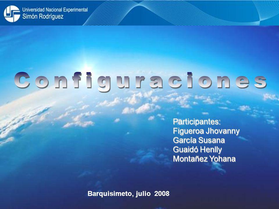Participantes: Figueroa Jhovanny García Susana Guaidó Henlly Montañez Yohana Barquisimeto, julio 2008