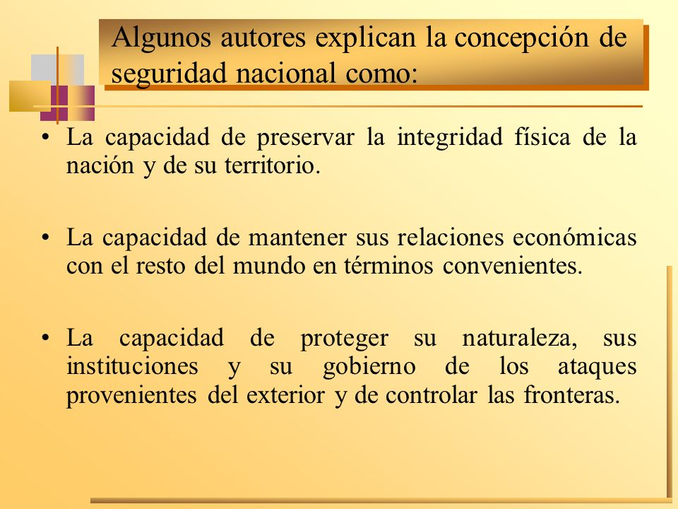 6.Tiene un carácter teleológico en función de los llamados objetivos nacionales.
