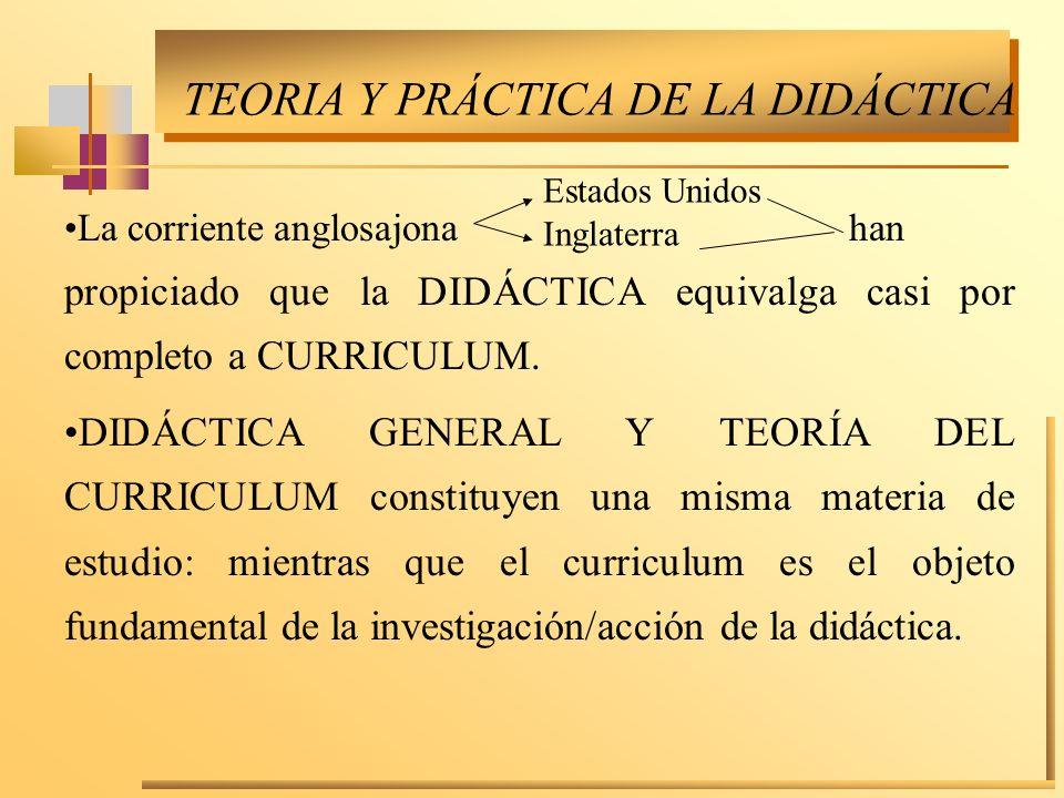 Desde el punto de vista teórico-científico lo que importa es disponer de teorías de la enseñanza o del curriculum que permitan: a.Orientar los procesos didácticos.