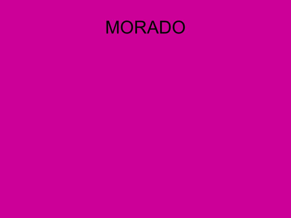 MORADO