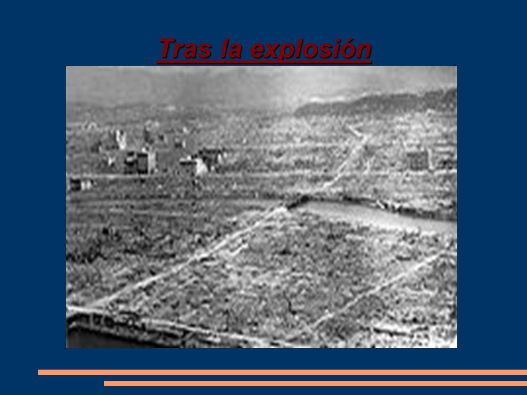 Hiroshima escenario de la 1º bomba atonica La ciudad fue escenario del primer bombardeo atómico de la historia, el 6 de agosto de 1945, en el final de la Segunda Guerra Mundial, por el bombardero estadounidense Enola Gay, ordenado por el ex presidente Harry Truman.