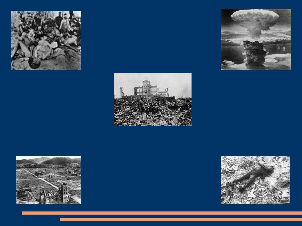 Tras la explosión La ciudad fue escenario del primer bombardeo atómico de la historia, el 6 de agosto de 1945, en el final de la Segunda Guerra Mundial, por el bombardero estadounidense Enola Gay, ordenado por el ex presidente Harry Truman.